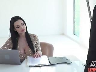 Chic Tits Secretary Fucked By Boss