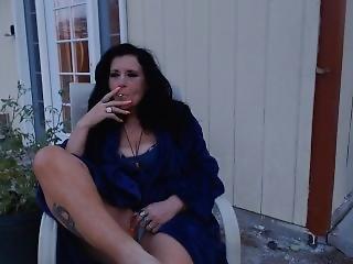 Mom Sneaks Outside To Smoke Before Sunrise