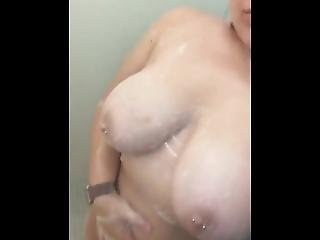 My 1st Nude Sexy Teen Tit Shower Massage