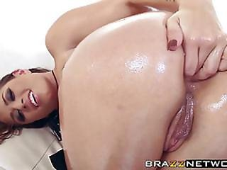 Eva Angelina Is Ready To Take It Up Her Sexy Round Tight Ass