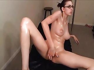 Busty Nerd Squirts