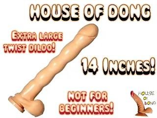 House Of Dong! Armadingdong Huge 14 Inch Arma-dildo With Balls!