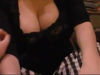 Brunette With Huge Tits Gets A Cumshot