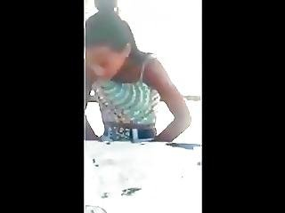 Young Girl Caught Masturbating In Public