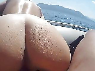 Fuck Hot Ass Girlfriend In Boat
