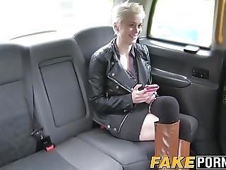 Big Tits Blonde Mila Riding The Cab Drivers Big Fat Dick