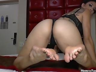 Mistress Tangent - Stinky Callused Soles For You #4