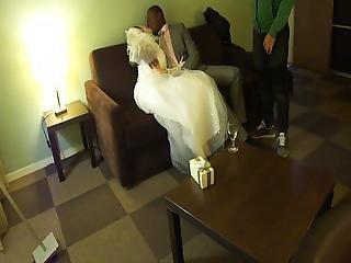 Bride Kisses Her Bull