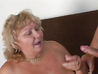 Voluptous Grandma Oh