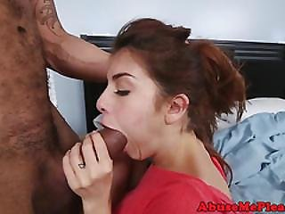Petite Throating Teen Lifted And Fucked Rough