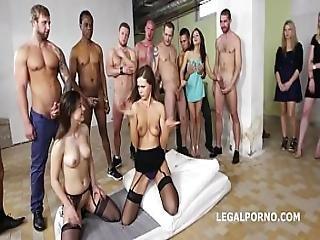 Initiation Of A Slut - Tina Kay And Gabriella Ferociously Hardcore Fucked