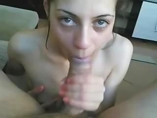Bulgarian Girl First Blowjob