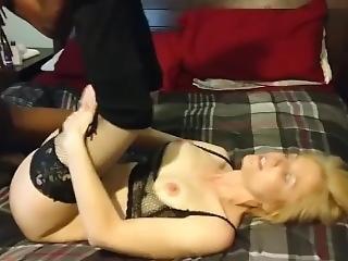 Sexi Blonde Wife Enjoy Bbc