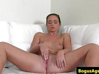 Gorgeous Casting Euro Rides Big Cock