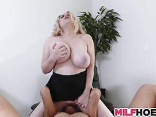 Big Tits Stepmom Shows Them Everything