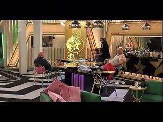 Chloe Khan & Marnie Simpson Topless Pole Dance On Celebrity Big Brother Uk