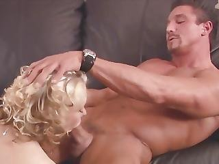 Curly Blonde Gets Fuck At The Work Place