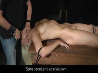 Spanked Red Hot Ass Bondage Used For Bdsm Fuck Devotion