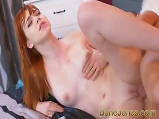 Dane Jones Cock Slapping German Teen Redhead Causes Throbbing Pain And Lust