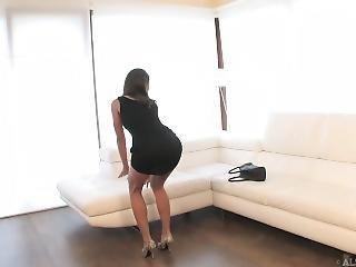 brunette, masturbatie, sexy, solo, Tiener