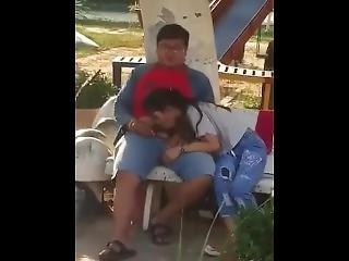 Khmer Girls Sucking Public