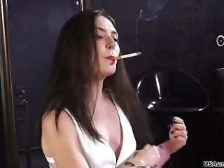 Bree And Her Sexy Girlfriends Smoke All Day: One Cigarette After Another!