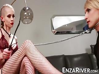 What Should Someone Like River Enza Do When Faced With A Deviant Babe Who Wants Her To Submit To Anal Pleasures?!