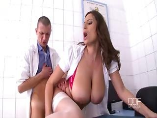 Sexy Nurse Sensual Jane Gets Pounded In The Clinic