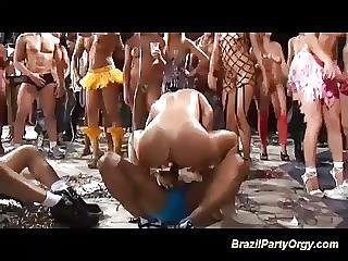Brazilian Wild Party Orgy
