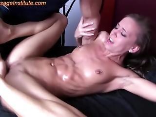doigtage, nique, massage, orgasme, petite, Ados