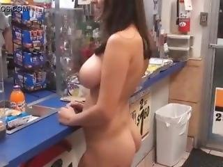 Exhibitionist In Convenience Store 2