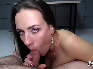 Sweet Innocence & Anal Queen Mea Melone Know How To Use Cock Properly