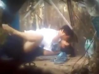 Young Asian Couple Caught Fucking On Hidden Camera