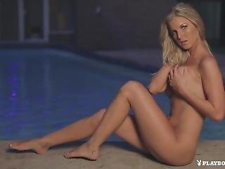 Playboy Plus - Kimber Cox In Poolside Passion