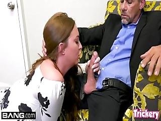 Maddy O Reilly Fucks The Therapist While Her Husband Waits