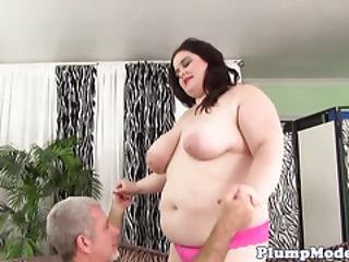 Pretty Bbw Screwed Gently By Her Lover