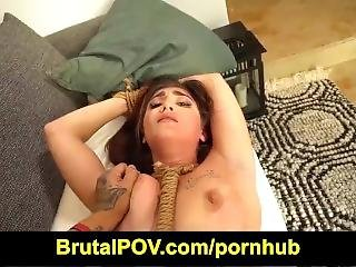 Brutal Pov - Luci Diamond - My Date Likes Bdsm