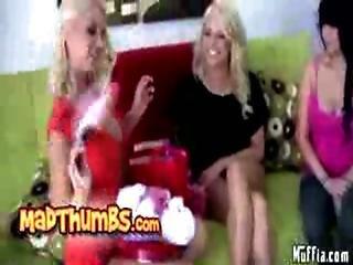 Sexy Muffia Threesome