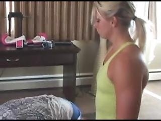 Mixed Wrestling With Casie Leigh