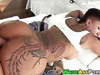 Big Tits Ho Bella Bellz Analyzed Hard By Throbbing Cock