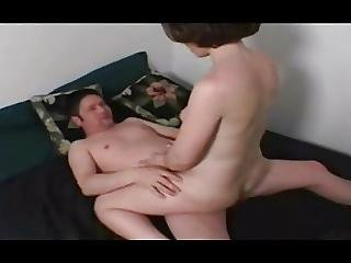 She Grinds Cowgirl Until He Cums Inside Her