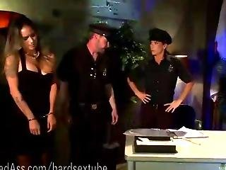 Dominatrix Cop Disciplines Hot Slut