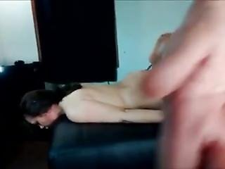 Bound Amateur Throatfucked And Fucked Hard