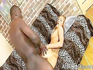 Hard Anal Sex Of The European Babe With The African Guy British Euro Brit European Cumshots Swallow