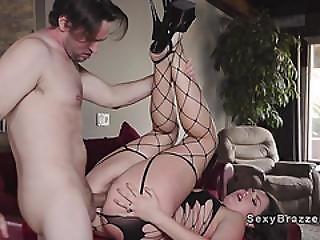 Nasty Housewife Got Neighbour Up Her Ass