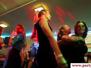 European Sexparty Sluts Riding Stripper Cocks