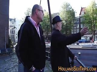 Amsterdam Pro Gets Fucked