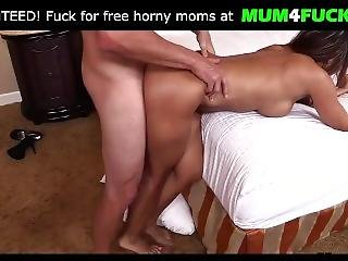 Rough Oiled Anal With Sexy Milf