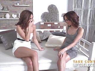 Twin Beauty Contestants Trick Judge To Fuck Them Pov