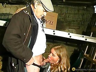 A Chap Invited Her Ally In The Garage